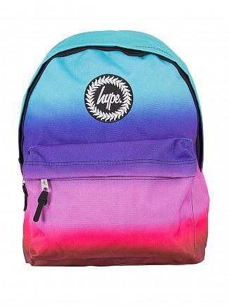 Hype Multi Dusk Fade Logo Backpack