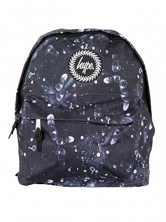 Hype Black Fingerprint Logo Backpack