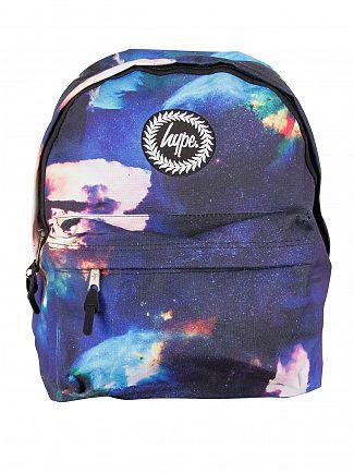 Hype Blue Jupiter Space Logo Backpack