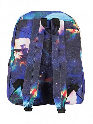 Hype Blue Jupiter Space Logo Backpack