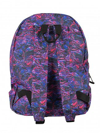 Hype Blue Paint Swirls V2 Logo Backpack