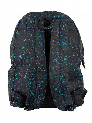 Hype Black/Cyan/Mint Primary Logo Backpack