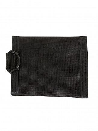 Hype Black Script Trifold Logo Wallet