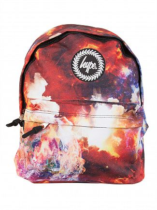 Hype Multi Space Flames Logo Backpack