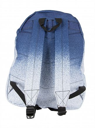 Hype Navy/White Speckle Fade Logo Backpack