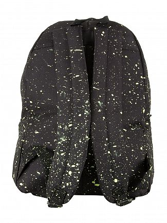 Hype Black/Lemon Speckle Logo Backpack
