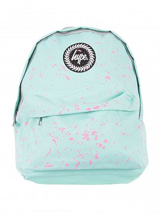 Hype Mint/Pink Speckle Logo Backpack