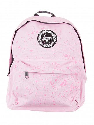 Hype Baby Pink/Pink Speckle Logo Backpack