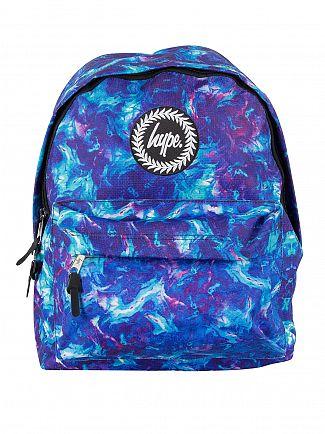 Hype Blue Thunder Logo Backpack