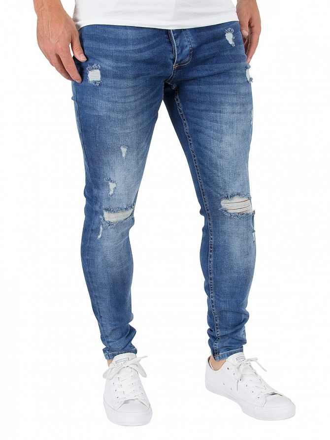 Kings Will Dream Mid Wash Rumer Hipster Jeans