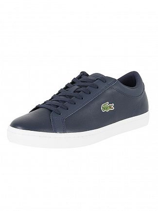 Lacoste Navy Straightset BL 1 CAM Trainers