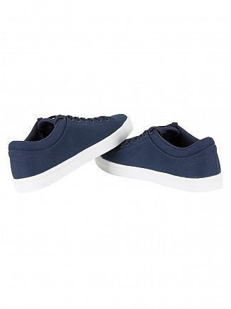 Lacoste Navy Straightset BL 2 CAM Trainers