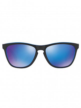 Oakley Eclipse Blue/Sapphire Iridium Frogskins Injected Sunglasses