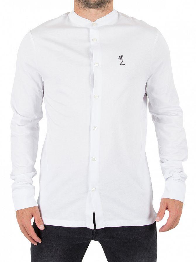 Religion White Ormont Logo Shirt