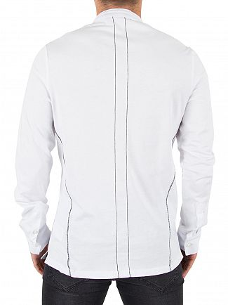 Religion White Ormont Logo Shirt