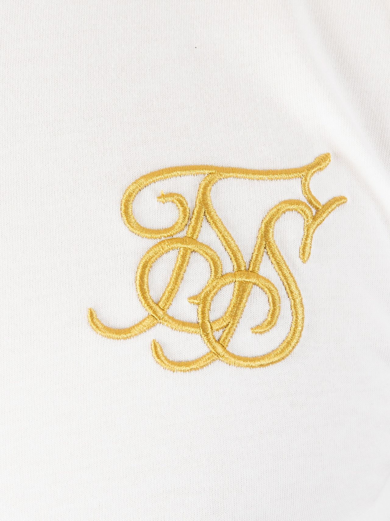 Sik Silk White Gold Edit Logo T-shirt  064f5e9044ef