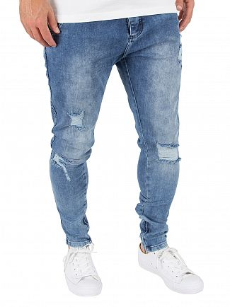Sik Silk Midstone Floral Spring Hareem Jeans