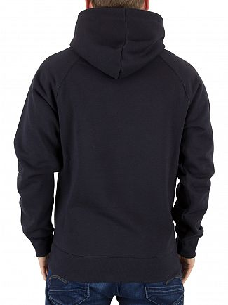 Carhartt WIP Dark Navy/Gold Chase Pullover Hoodie