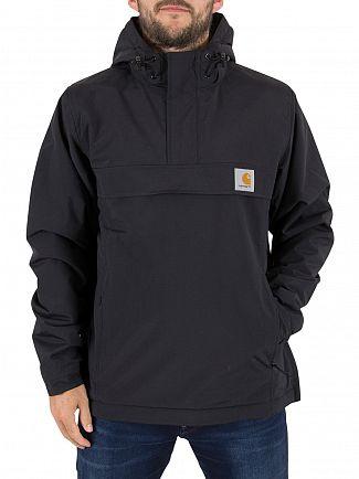 Carhartt WIP Black Nimbus Pullover Logo Jacket