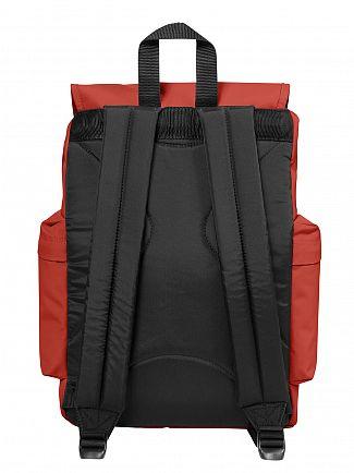 Eastpak Terracotta Red Austin Logo Backpack
