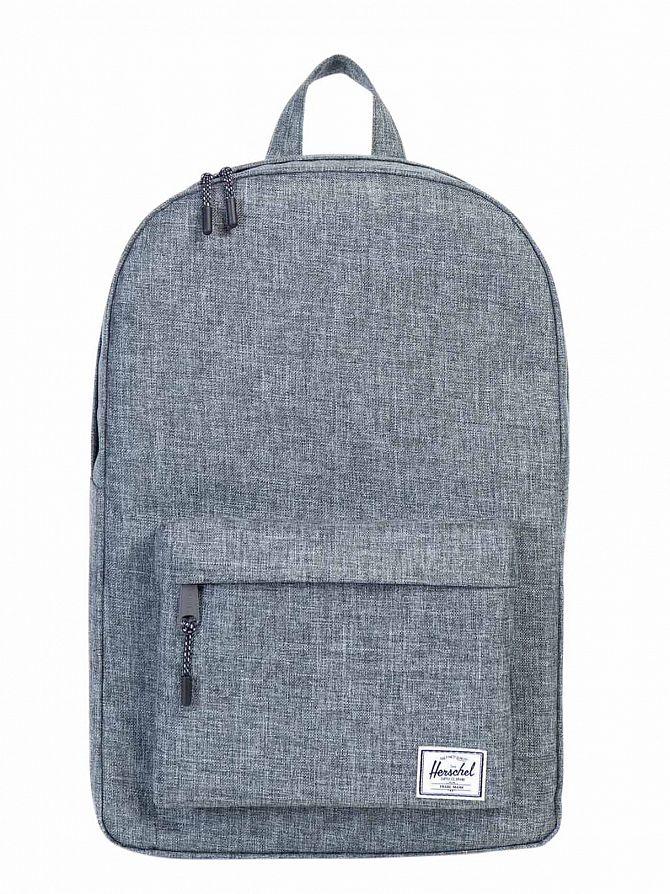 Herschel Supply Co Raven Crosshatch Classic Logo Backpack