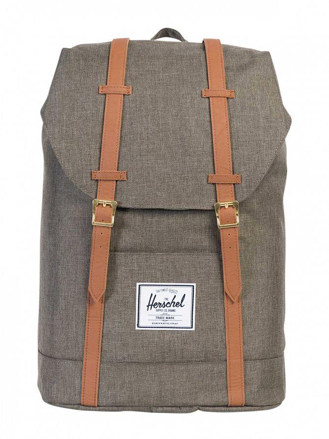 Herschel Supply Co Canteen Crosshatch Retreat Straps Backpack