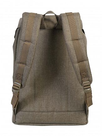 Herschel Supply Co Canteen Crosshatch Retreat Straps Backpack