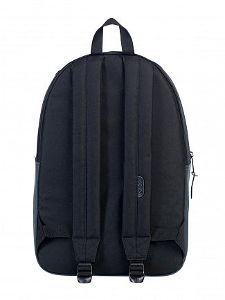 Herschel Supply Co Dark Shadow/Black Settlement Logo Backpack