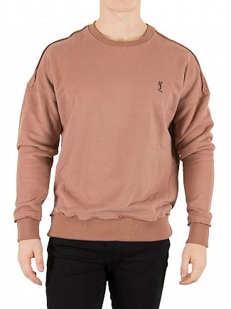 Religion Cognac Climax Drop Shoulder Sweatshirt