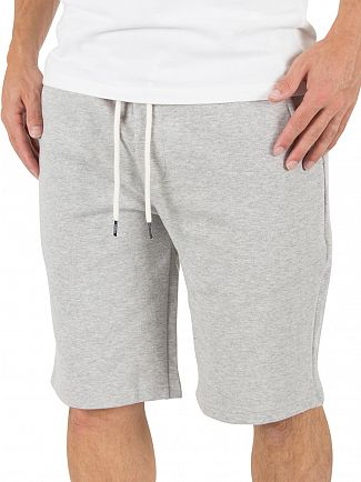 Tommy Hilfiger Grey Heather Athletic Logo Sweat Shorts