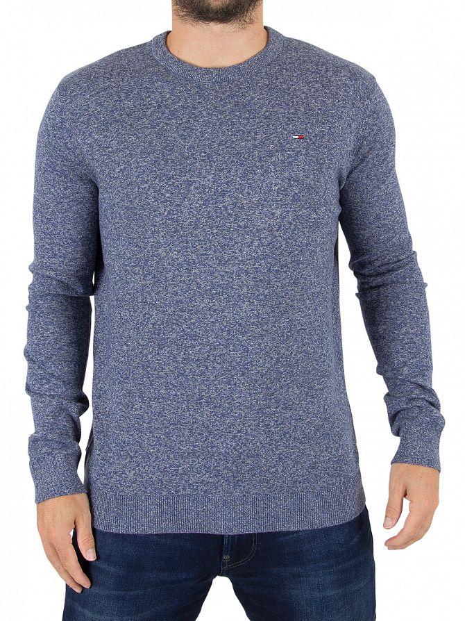 Tommy Hilfiger Denim Black Iris Logo Knit