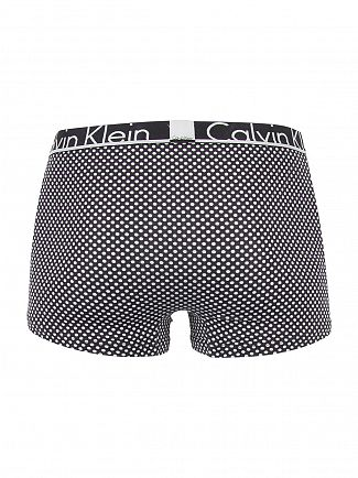 Calvin Klein Black ID Ace Dot Print Trunks