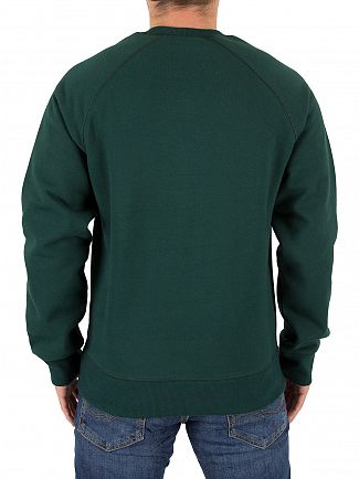 Carhartt WIP Parsley/Gold Chase Sweatshirt