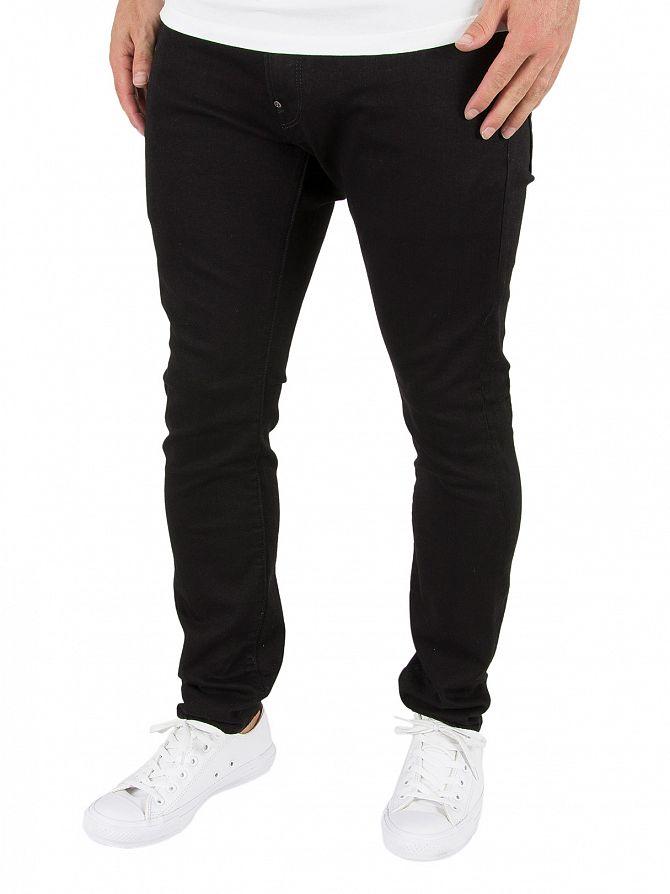 G-Star Hino Black Revend Super Slim Jeans