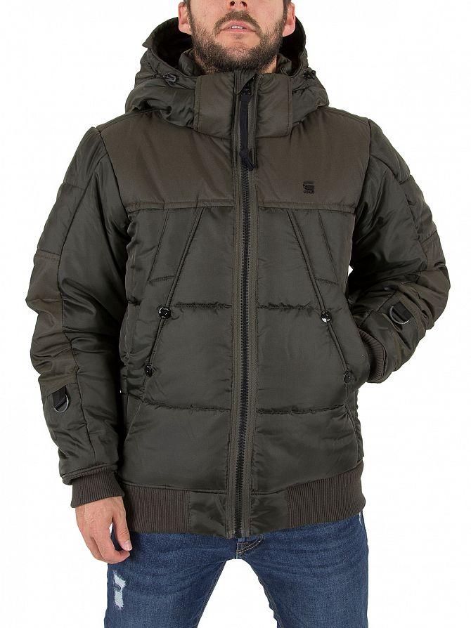 G-Star Asfalt Whistler Hooded Bomber Jacket