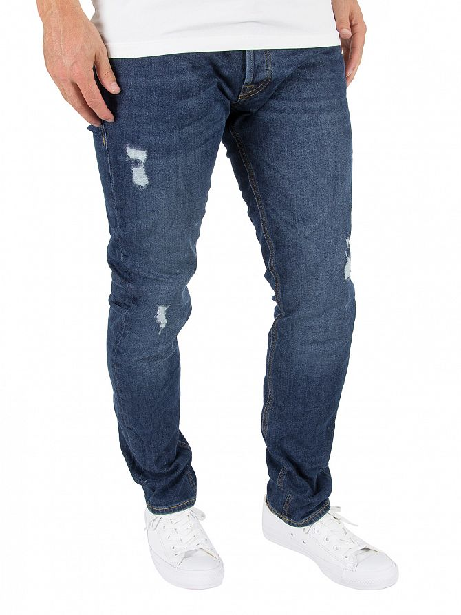 Jack & Jones Blue Denim Tim 419 Original Jeans