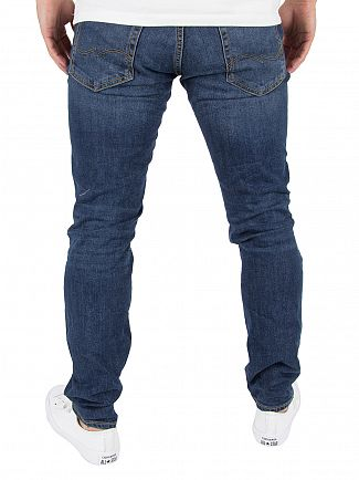 Jack & Jones Blue Denim Tim 419 Original Jeans