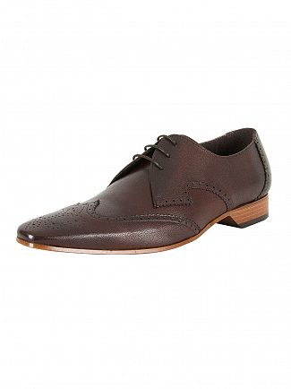 Jeffery West Medusa Mid Brown Escoba Leather Shoes