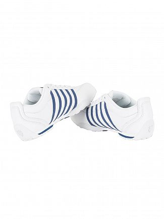 K-Swiss White/Ensign Blue Arvee 1.5 Trainers