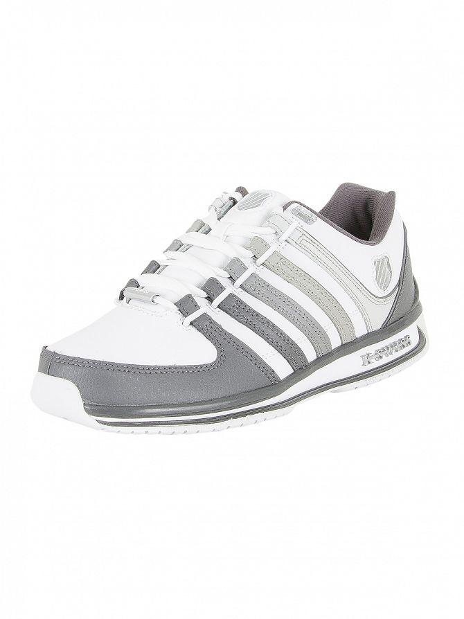 K-Swiss White/Gray Gradient Rinzler SP Trainers