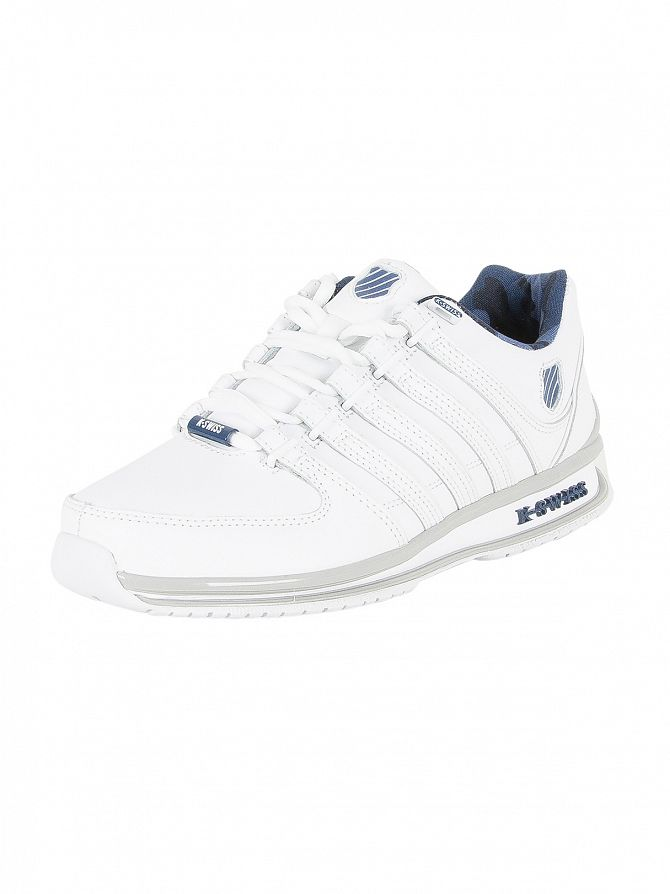 K-Swiss White/Ensign Blue/Camo Rinzler SP Trainers
