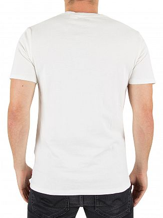 Levi's White 501 Original T-Shirt