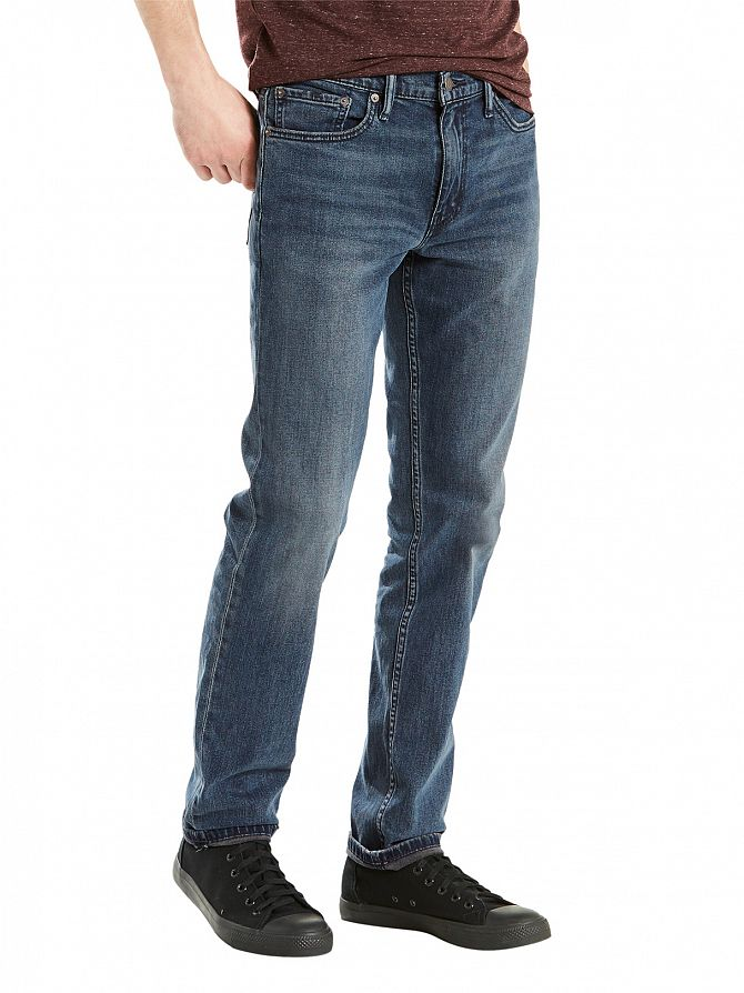 Levi's Blue Wash 511 Slim Fit Pixies Jeans