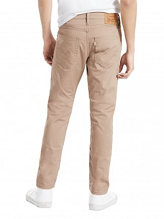 Levi's Sand 512 Slub Slim Taper Fit Chinos