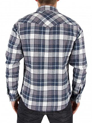 Levi's Wintercress Dark Barstow Western Check Shirt