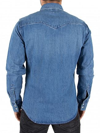 Levi's Indigo Barstow Western Denim Shirt
