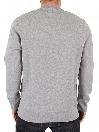 Levi's Midtone Grey Graphic Batwing Sweatshirt
