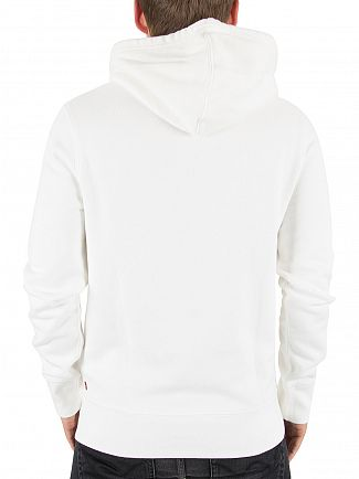 Levi's White Graphic Pullover Hoodie