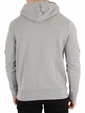 Levi's Grey Graphic Pullover Logo Hoodie