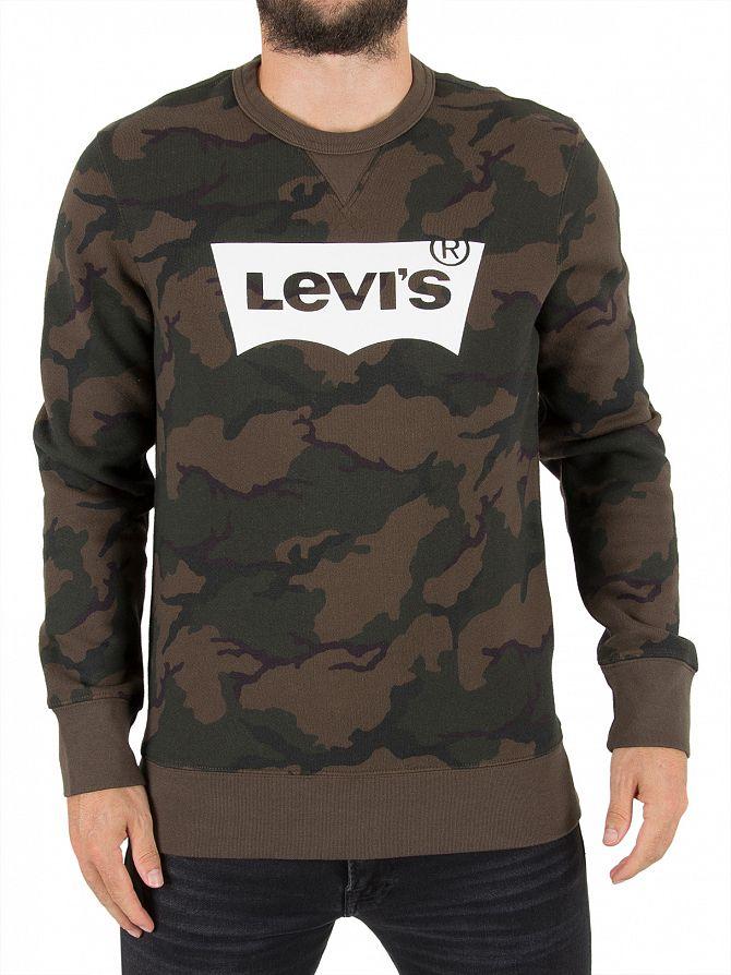 Levi's Camo Graphic Sweatshirt
